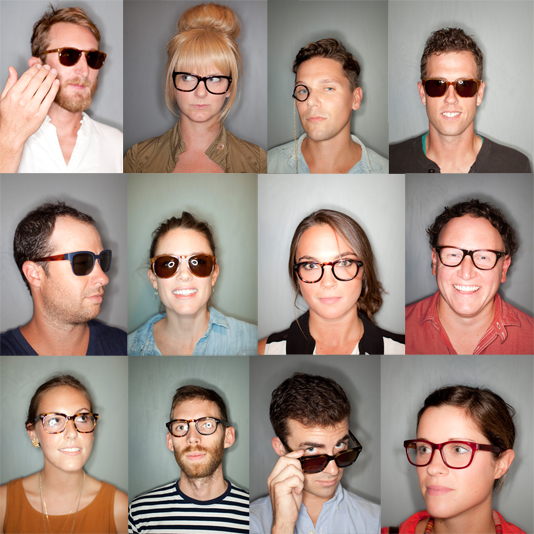 warby parker showroom frames sunglasses