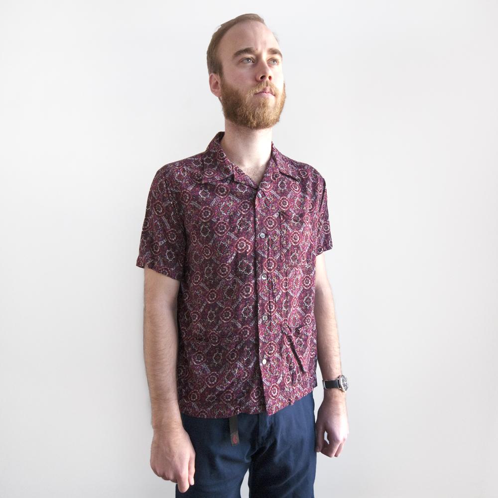 batten wear spring summer 2014 five pocket island shirt burgundy