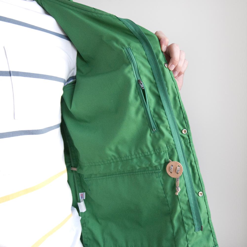 batten wear spring summer 2014 light shell parka kelly green