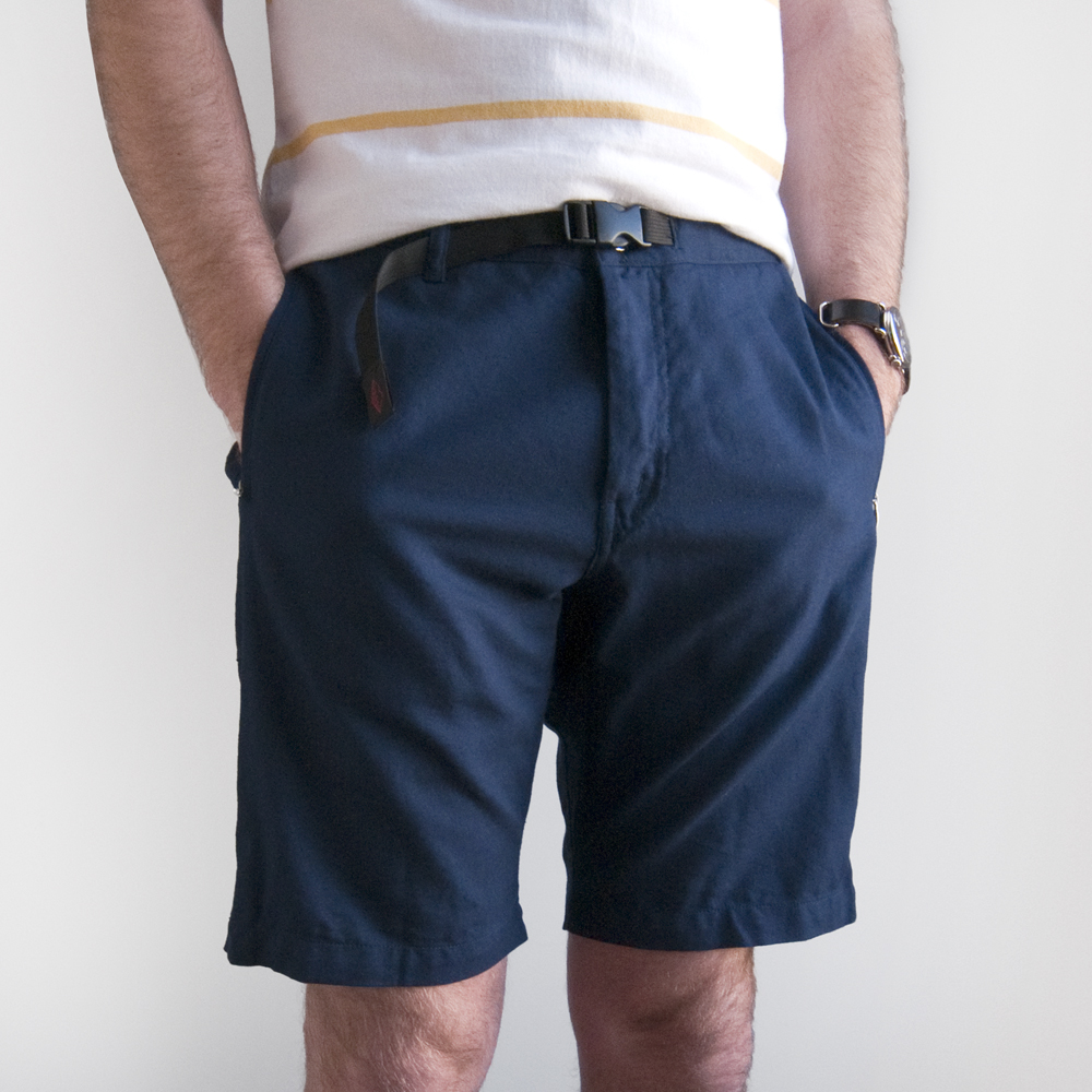 batten wear spring summer 2014 overhang shorts navy