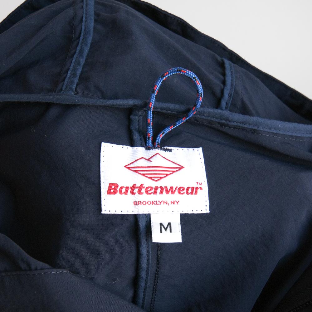 batten wear spring summer 2014 packable anorak navy