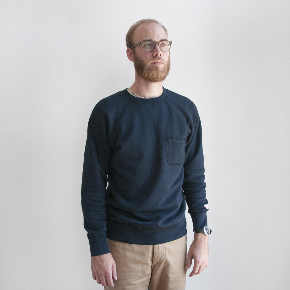 Battenwear Reach Up Sweatshirt navy