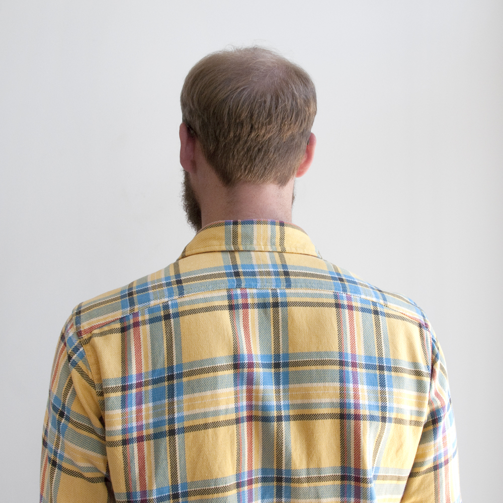 Battenwear Work Shirt Yellow Plaid