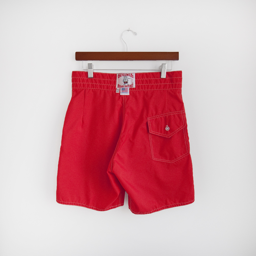 Birdwell Beach Britches Red