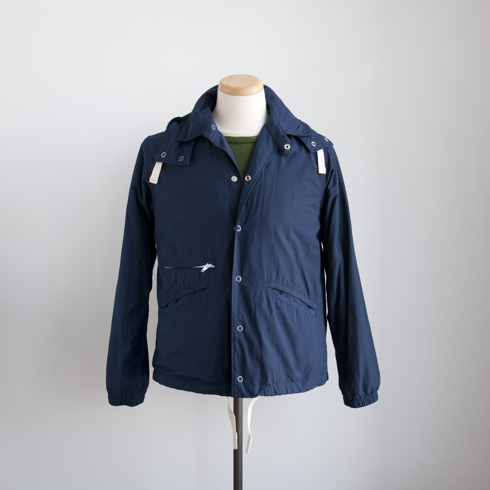engineered garments spring summer 2013 Ground Jacket in Navy Cotton/Nylon