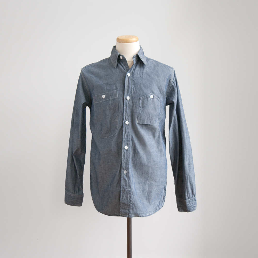 engineered garments fall winter 2013 works shirt chambray
