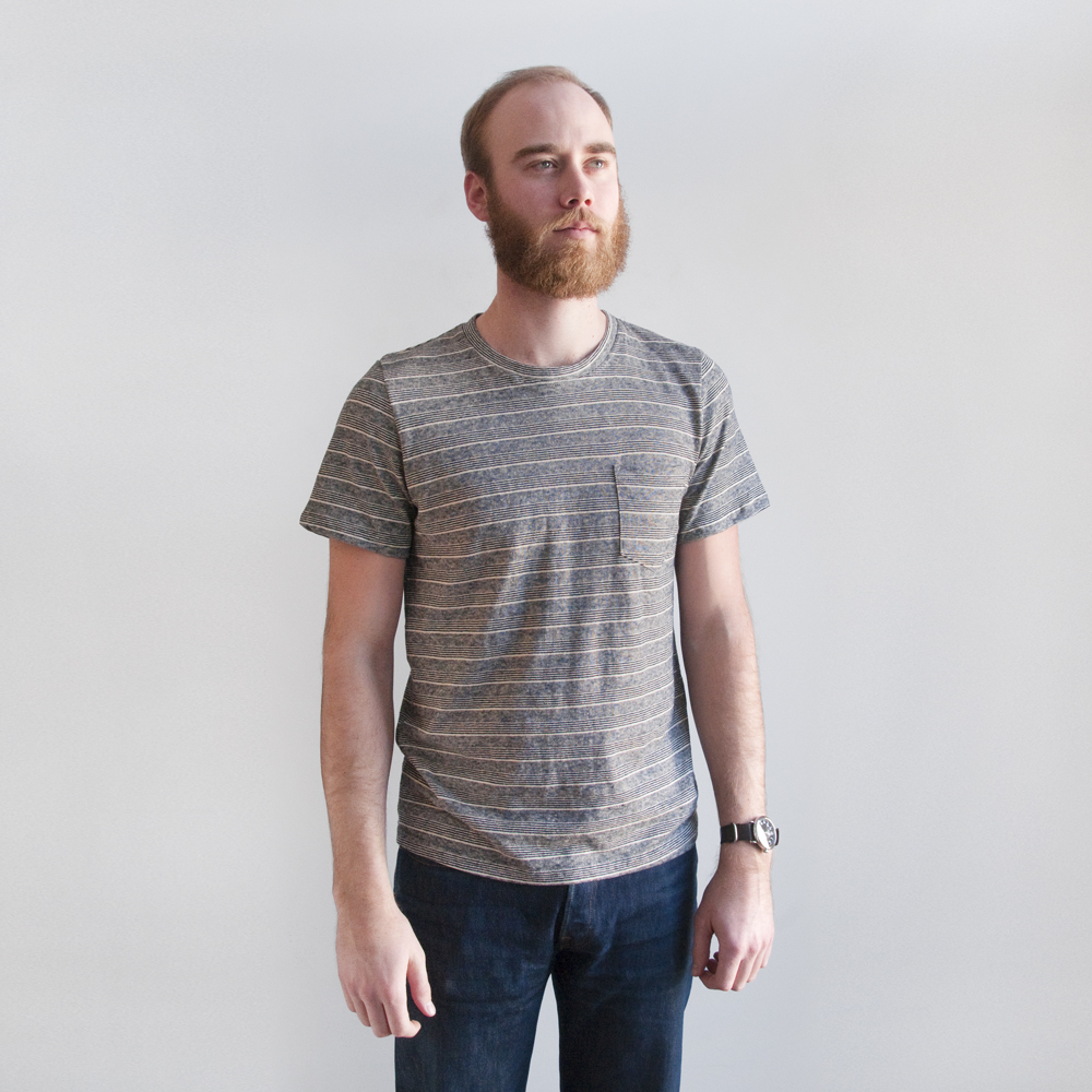 Jungmaven Yard Dyed Pocket Tee in Portland