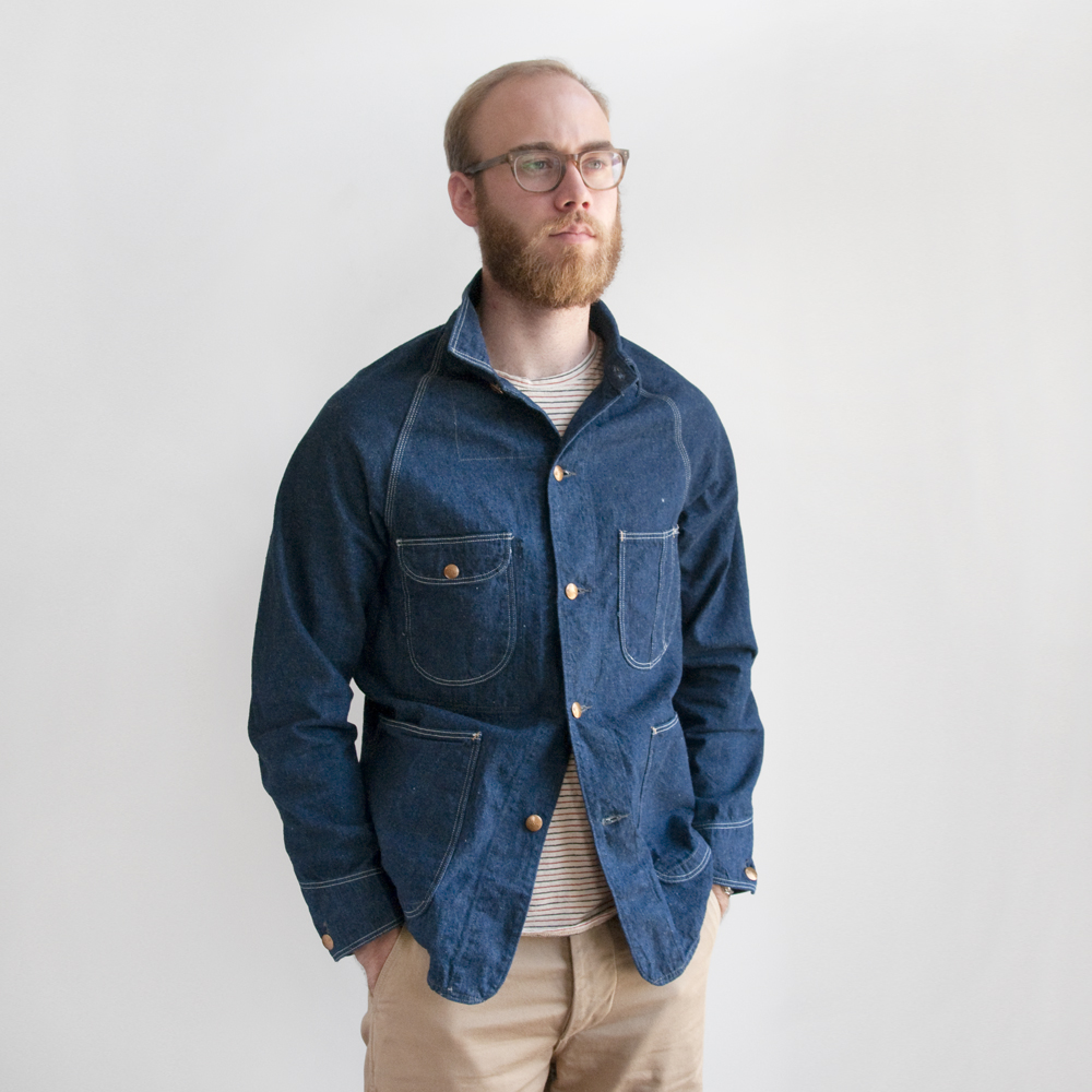 orslow denim button down army trousers japan selvedge (10)
