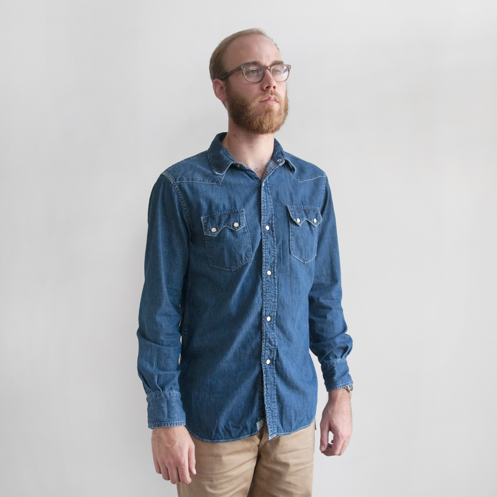 orslow denim button down army trousers japan selvedge (8)