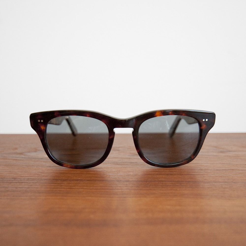 Shuron Sunglasses Sidewinder Demi Amber Light Gray