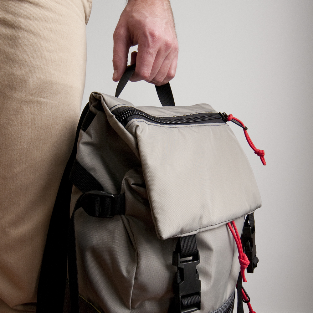 Topo Designs Rover Pack Charcoal Silver