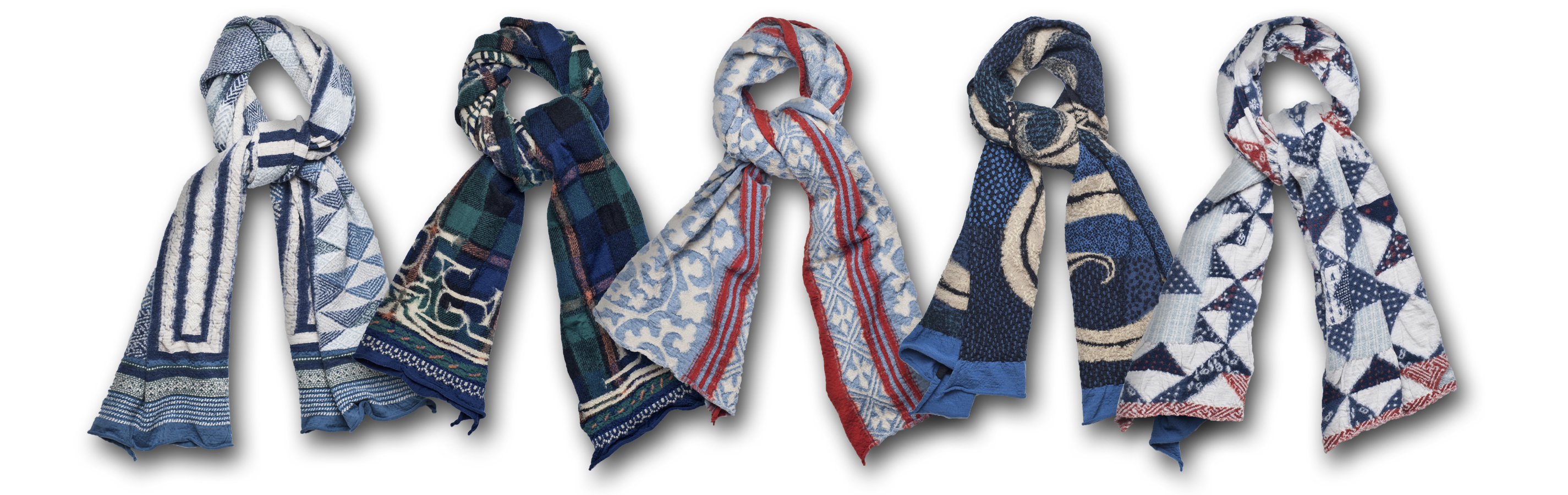 New Kapital Compressed Wool Scarves