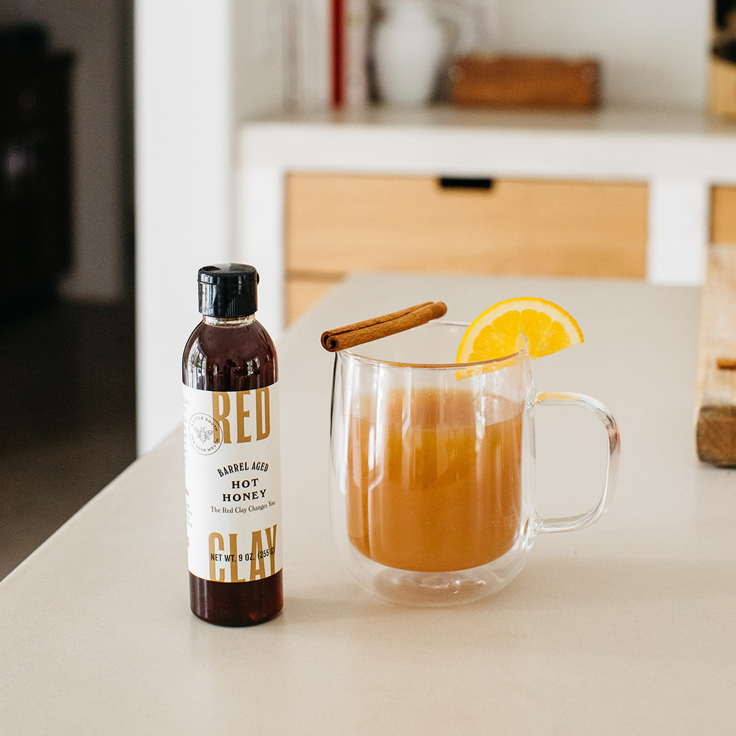 Hot Honey Hot Toddies w/ Red Clay