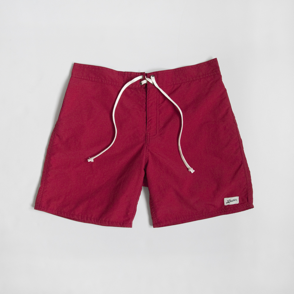 Bather Surf Trunk in Red