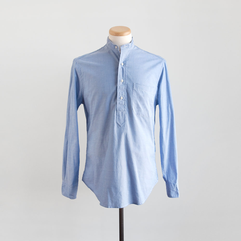 Gitman Brothers Vintage Popover Japanese Chambray in Blue